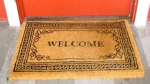 welcome mat for evangelization