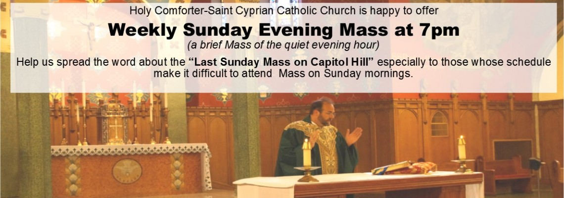 Sunday Evening Mass