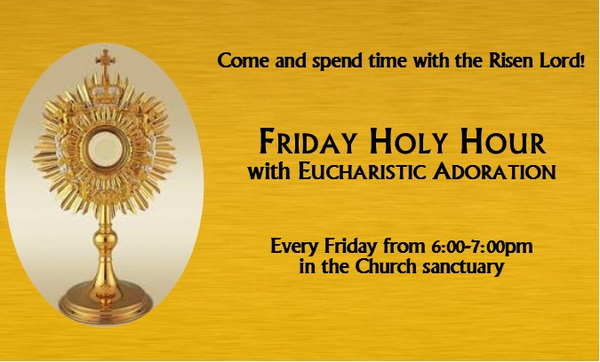 First Friday Holy Hour |