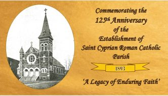 125th Anniversary of Saint Cyprian Parish